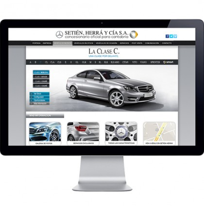 Mercedes Web